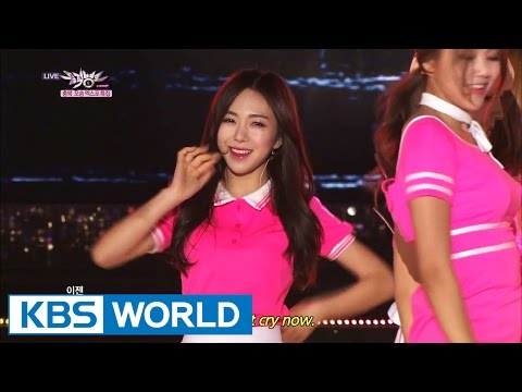 AOA - Short Hair (단발머리) [Music Bank HOT Stage / 2014.10.03]