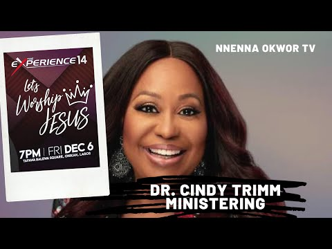 Dr. Cindy Trimm Leads Prayer At The Experience Lagos 2019