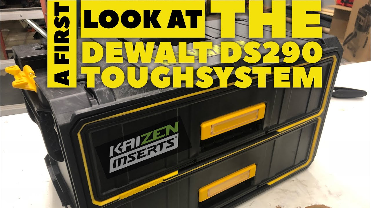 Dewalt Ds290 Toughsystem Box Initial Thoughts Youtube