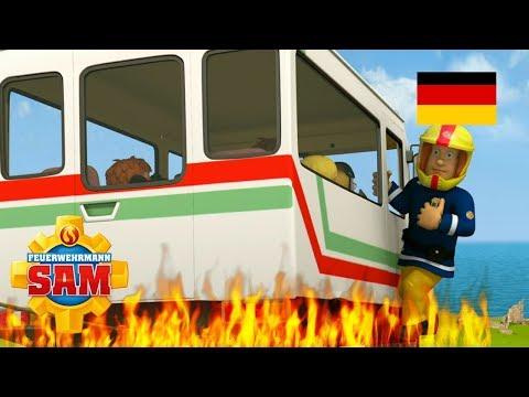 Feuerwehrmann Sam Deutsch Neue Folgen | Sams freier Tag - Bus in Gefahr 🚒Kinderfilme