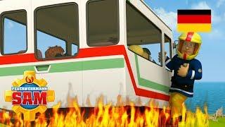 Feuerwehrmann Sam Deutsch Neue Folgen | Sams freier Tag - Bus in Gefahr Kinderfilme