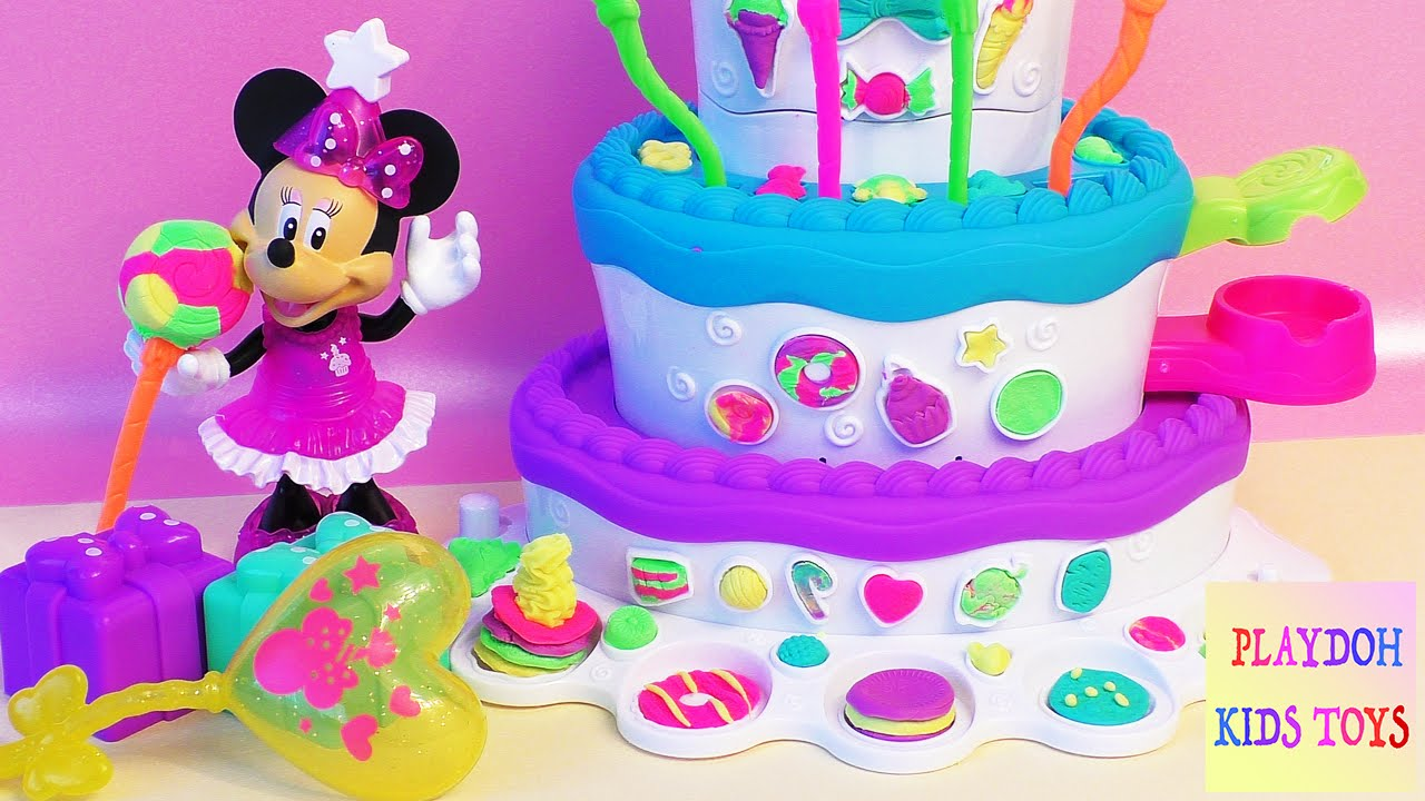 Play Doh Sweet Shoppe Cake Mountain Play Set Playdough Girl Cooking