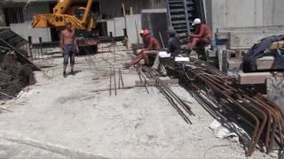 Строительство по дороге на Карасан(Строительство спа-ресорт