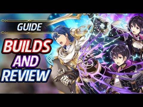 Female Morgan, Male Morgan & Exalt Chrom Builds, Review & Analysis: Fire Emblem Heroes Guide