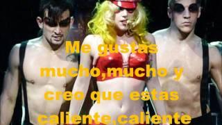 Lady Gaga-Boys,boys,boys Traducida al Español