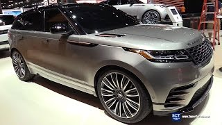 2018 Range Rover Velar - Exterior and Interior Walkaround - Debut at 2017 New York Auto Show