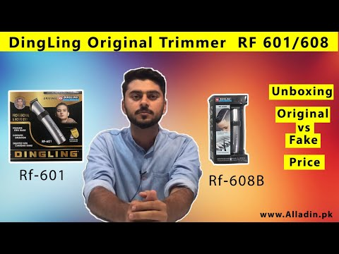 Dingling RF 601/608 Trimmer for Men unboxing and review | Best Men's Trimmer