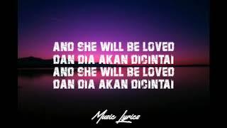 Maroon 5 - She Will Be Loved (Lyrics lagu )
