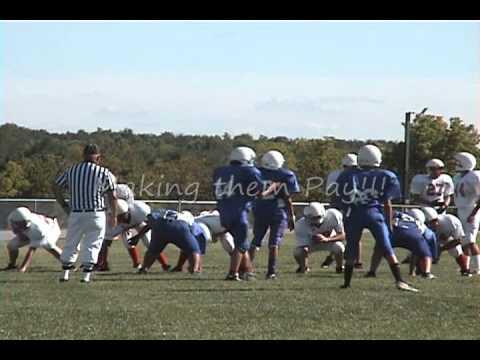 2010 Shawnee Heights vs Junction City Middle School 8th grade.wmv