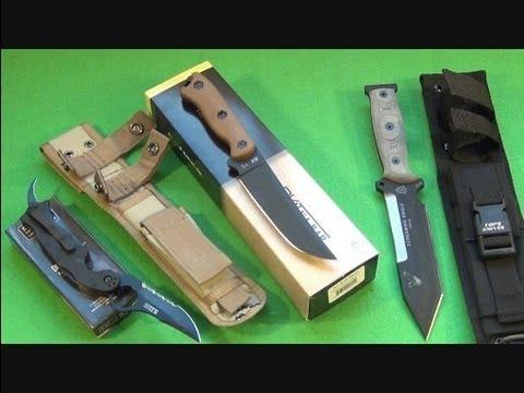 Ka-Bar Becker BK-15, 5.11 Double Duty Karambit, TOPS Screaming Eagle ...