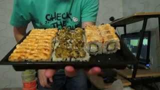 Обзор ресторана доставки суши роллов и пиццы Василий отзыв от Vilimas TV