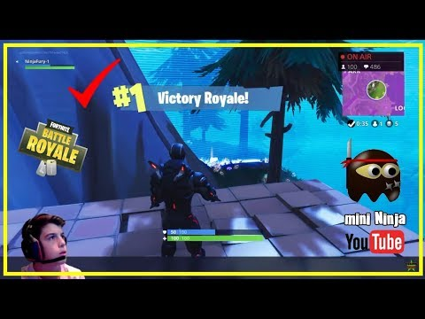 Amazing 12 Year Old Fortnite Player / Another WIN / NEW Jetpack Coming 2moro? Pt. 2