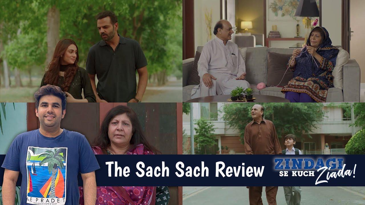 The Sach Sach Review   Zindagi Se Kuch Ziada   Izhar Monnoo Developers   Momin Ali Munshi