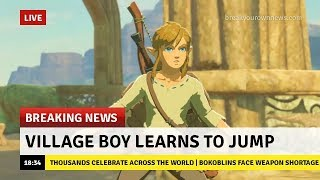Live Destroying The Game With Infinite Jumps Glitch! Boy Learns To Jump In Zelda Breath Of The Wild