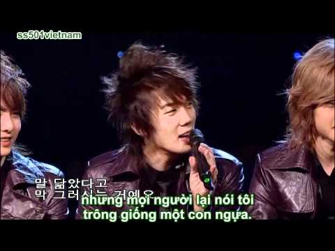 [Vietsub] SS501 - DVD The 1st Story of SS501 - Disc 1 - Music Space Part 1