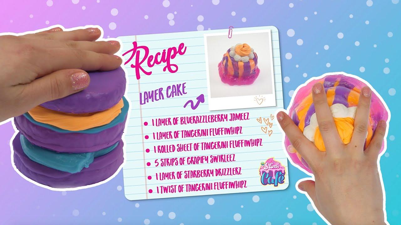 How to make Slimi Layer Cake! | Tutorials | ORB Slimi Café™