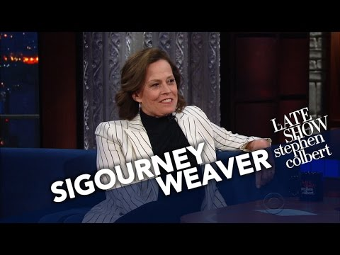 Sigourney Weaver Went Island Hopping To Avoid Trump