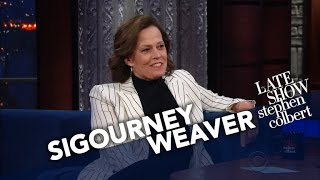 Sigourney Weaver Went Island Hopping To Avoid Trump News