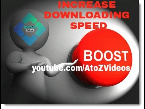 How to increase downloading speed in tamil
