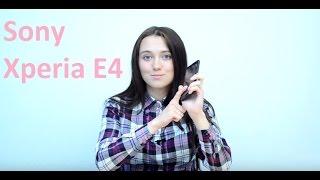 видео Смартфон Sony Xperia E4: обзор, цена, характеристики