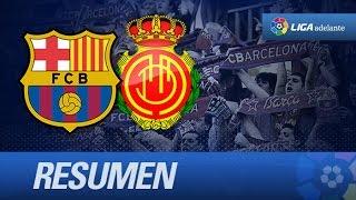 Resumen de FC Barcelona B (2-4) RCD Mallorca