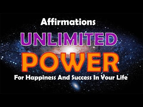 Unlimited Power - Affirmations for Success & Prosperity in Your Life