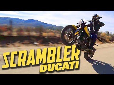 Ducati Scrambler 1st Ride! - MotoGeo Review