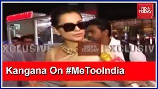 Why Are Karan & Shabana Silent? Kangana Ranaut Questions Bollywood A-Listers #MeTooIndia