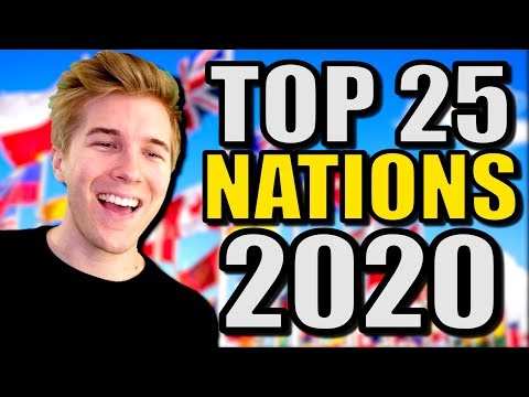 Top 25 Strongest Nations In The World In 2020