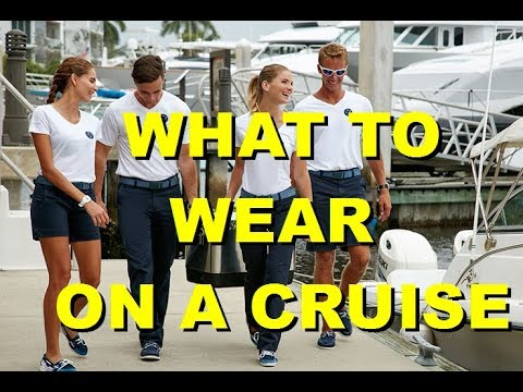 WHAT TO WEAR ON A BOAT CRUISE
