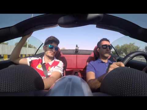 Ferrari Drive in Abu Dhabi