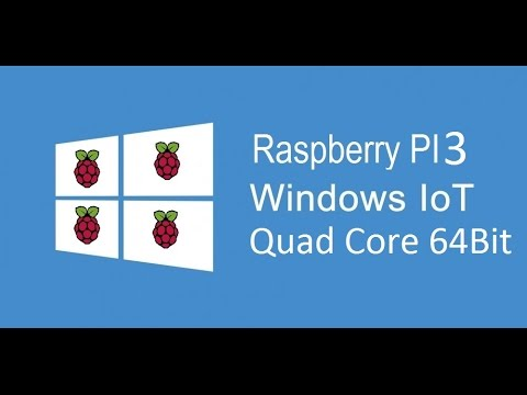 "PI 3, Windows 10 IoT, 7"" LCD and Browser Support !! - YouTube"