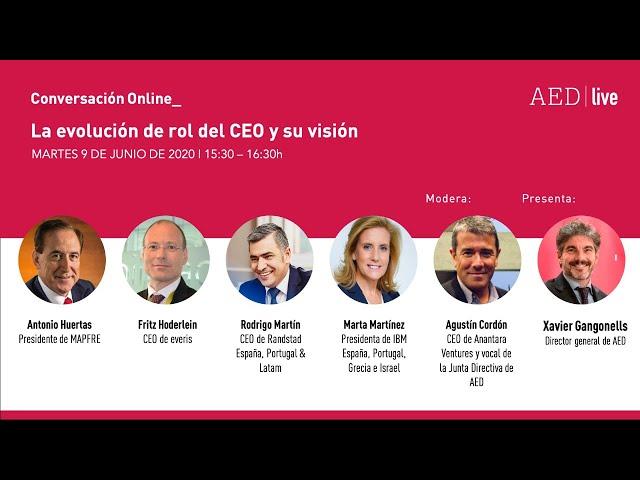 Conversación Online_ La evolución de rol del CEO y su visión