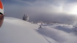 one of those days deep powder skiing in austria november 2013 gopro hero 3 black edition