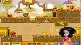Путешествие в Египет Прохождение онлайн игры Улитка Боб 3 Прохождение с 18 по 25 уровень