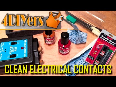 How to Easily Clean Corroded Electrical Connections & Apply Protection