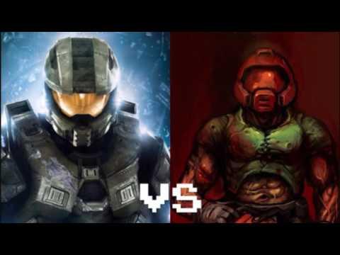 Nightcore - Doomguy vs Master Chief Rap Battle