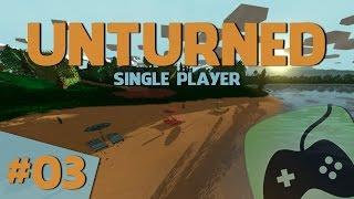 A jogar: UNTURNED #3 Construir uma Casa e Baús