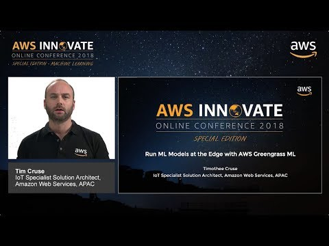 Run ML Models at the Edge with AWS Greengrass ML