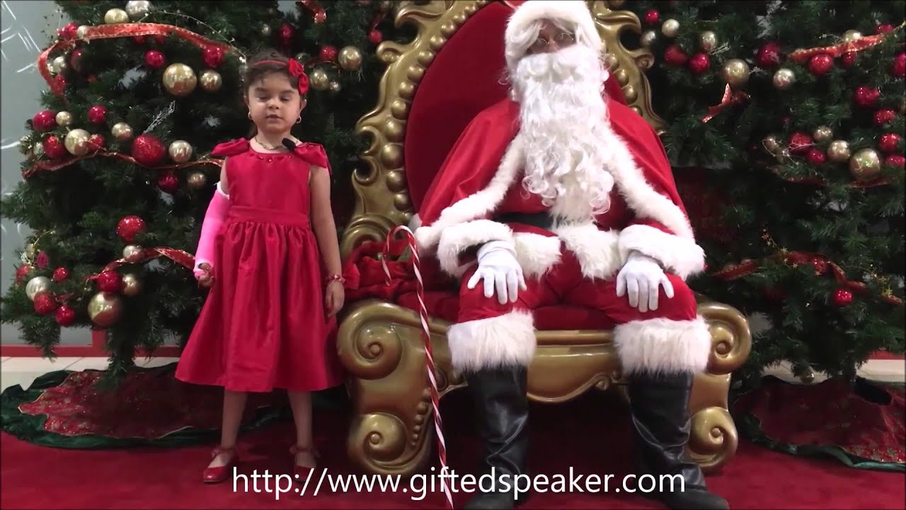 christmas celebration 2015 with santa claus join the spirit of christmas with tara youtube - Pictures With Santa Claus