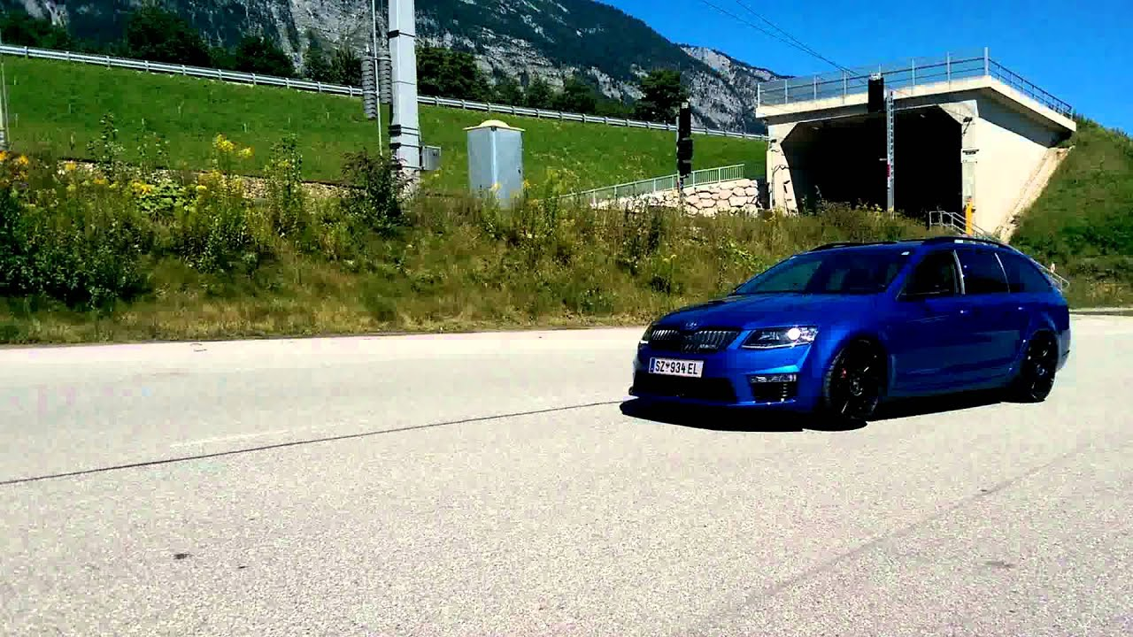 skoda octavia rs 5e dsg mit bullx ab turbo youtube. Black Bedroom Furniture Sets. Home Design Ideas