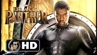 Black panther poster & first trailer announcement (2018) chadwick boseman marvel movie hd