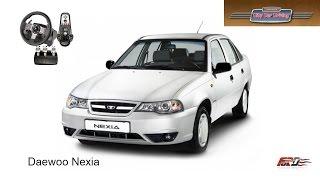 [ Daewoo Nexia ] тест-драйв, обзор, дешевый народный корейский автомобиль City Car Driving