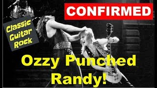Tommy Aldridge confirms: Ozzy Osbourne punched Randy Rhoads days before his death