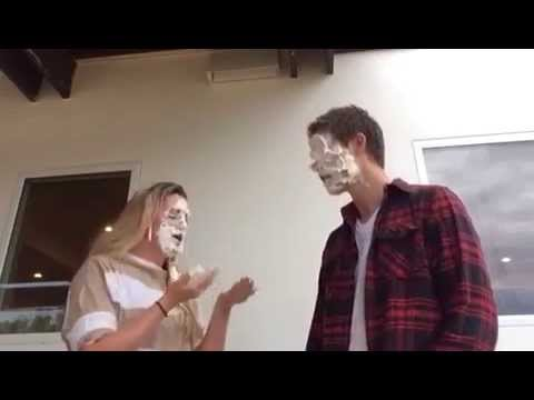Haylie and Jonny Lang Cream Childhood Cancer Challenge.  #creamcancer.  Www.bows4bailey.com