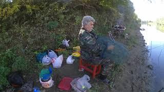рыбалка на реке Кубань в октябре