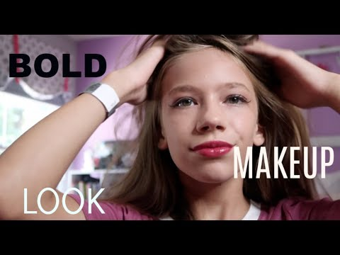 BOLD Make Up Look!| How To| Emily morgan