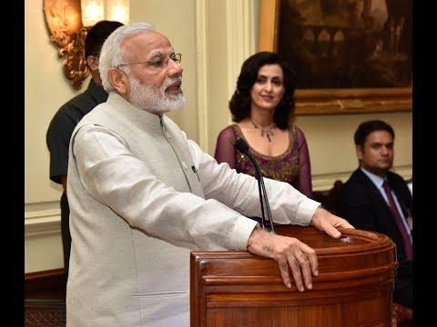 PM Narendra Modi's speech at release of book ' President Pranab Mukherjee A statesman '