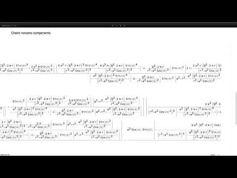 Beyond the Black Hole Horizon with Mathematica