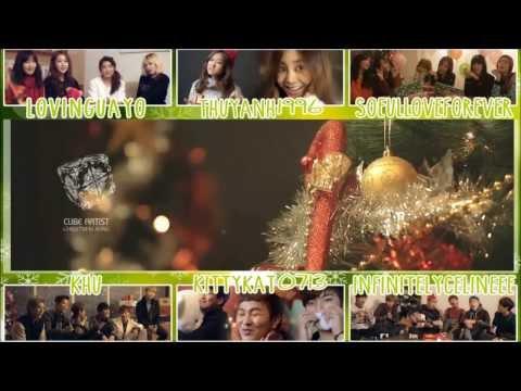 United Cube 크리스마스 노래 (Christmas Song) Collab [APC]